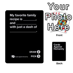 Cah Black Cards 4 By Steven   Playing Cards 54 Designs   Unzct31u0jse   Www Artscow Com Front - Heart10