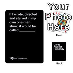 Cah Black Cards 4 By Steven   Playing Cards 54 Designs   Unzct31u0jse   Www Artscow Com Front - Diamond6