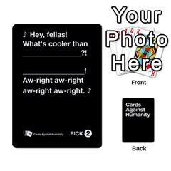 Cah Black Cards 4 By Steven   Playing Cards 54 Designs   Unzct31u0jse   Www Artscow Com Front - Diamond10