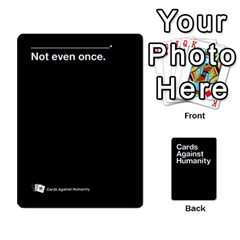 Cah Black Cards 4 By Steven   Playing Cards 54 Designs   Unzct31u0jse   Www Artscow Com Front - Club10