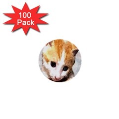 Sweet Face :) 1  Mini Button (100 Pack) by mysticalimages