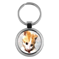 Sweet Face :) Key Chain (round) by mysticalimages