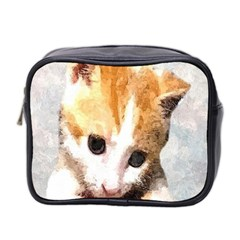 Sweet Face :) Mini Travel Toiletry Bag (Two Sides) by mysticalimages