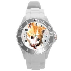 Sweet Face ;) Plastic Sport Watch (large) by mysticalimages