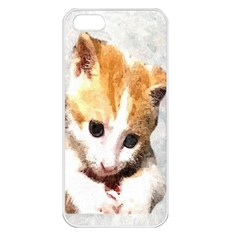 Sweet Face ;) Apple Iphone 5 Seamless Case (white)