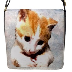Sweet Face ;) Flap Closure Messenger Bag (small) by mysticalimages