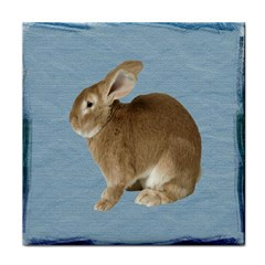 Cute Bunny Ceramic Tile by mysticalimages