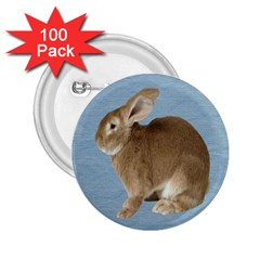 Cute Bunny 2 25  Button (100 Pack) by mysticalimages