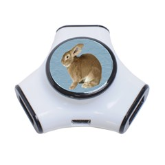 Cute Bunny 3 Port Usb Hub by mysticalimages