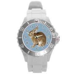 Cute Bunny Plastic Sport Watch (large)