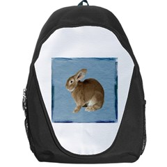 Cute Bunny Backpack Bag by mysticalimages