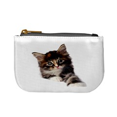 Curious Kitty Coin Change Purse