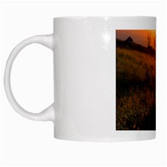 Evening Rest White Coffee Mug