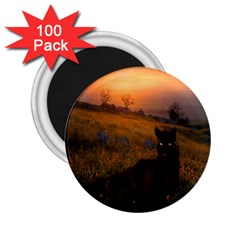 Evening Rest 2 25  Button Magnet (100 Pack) by mysticalimages