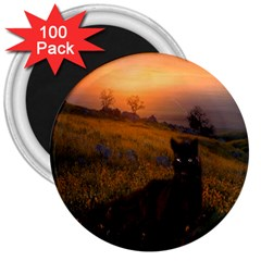 Evening Rest 3  Button Magnet (100 Pack) by mysticalimages