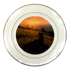 Evening Rest Porcelain Display Plate by mysticalimages