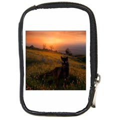 Evening Rest Compact Camera Leather Case by mysticalimages