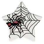 Spider in web Ornament (Star)