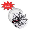 Spider in web 1.75  Button (10 pack)