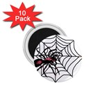 Spider in web 1.75  Magnet (10 pack)