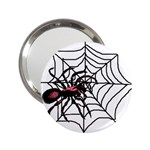 Spider in web 2.25  Handbag Mirror