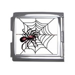 Spider in web Mega Link Italian Charm (18mm)