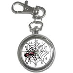 Spider in web Key Chain Watch