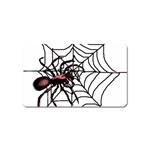 Spider in web Magnet (Name Card)