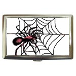 Spider in web Cigarette Money Case