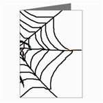 Spider in web Greeting Cards (Pkg of 8)