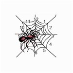 Spider in web Travel Alarm Clock