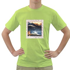 Stormy Twilight [framed] Mens  T Shirt (green) by mysticalimages