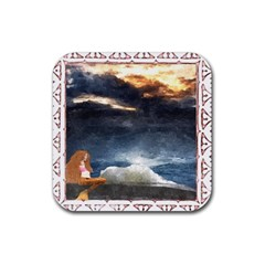 Stormy Twilight [framed] Drink Coasters 4 Pack (square) by mysticalimages