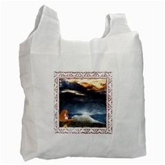 Stormy Twilight [framed] Recycle Bag (two Sides) by mysticalimages