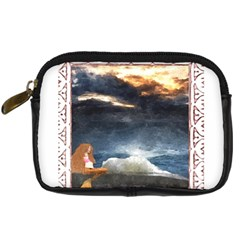 Stormy Twilight [framed] Digital Camera Leather Case by mysticalimages