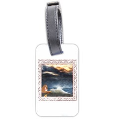Stormy Twilight [framed] Luggage Tag (two Sides) by mysticalimages