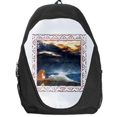 Stormy Twilight [framed] Backpack Bag by mysticalimages