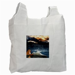 Stormy Twilight  Recycle Bag (one Side) by mysticalimages