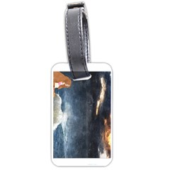 Stormy Twilight  Luggage Tag (two Sides) by mysticalimages