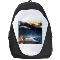 Stormy Twilight  Backpack Bag by mysticalimages