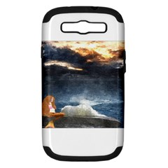 Stormy Twilight  Samsung Galaxy S Iii Hardshell Case (pc+silicone) by mysticalimages