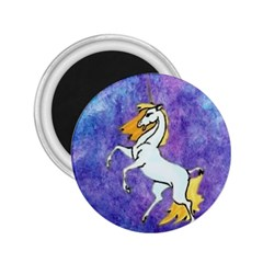 Unicorn Ii 2 25  Button Magnet by mysticalimages