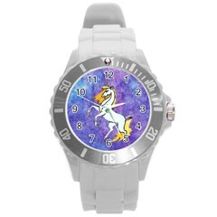 Unicorn Ii Plastic Sport Watch (large) by mysticalimages