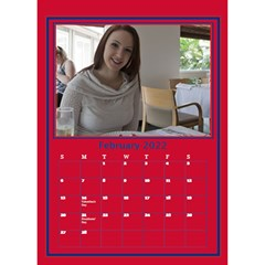 A Little Perfect Desktop Calendar By Deborah   Desktop Calendar 6  X 8 5    Fnag7i5u5k71   Www Artscow Com Feb 2018