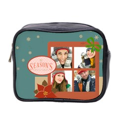 Christmas By Merry Christmas   Mini Toiletries Bag (two Sides)   Adjacxfftscs   Www Artscow Com Front