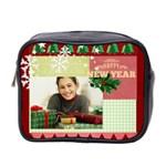 christmas - Mini Toiletries Bag (Two Sides)