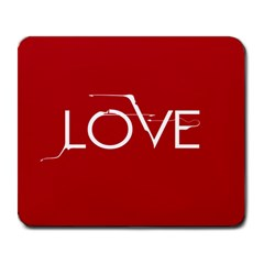 LOVE Large Mouse Pad (Rectangle) by Contest1696491