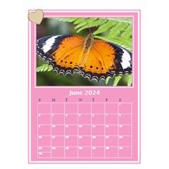 Princess Pink Desktop Calendar By Deborah   Desktop Calendar 6  X 8 5    00rr7lqbvdy1   Www Artscow Com Jun 2018