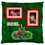 Noel large cushion case, one side - Large Cushion Case (One Side)