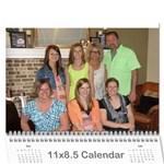 2014kris - Wall Calendar 11  x 8.5  (12-Months)